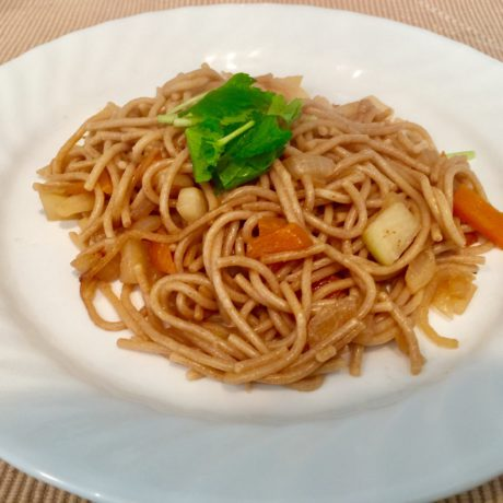 アインコーンスパゲッティ(焼きうどん風)