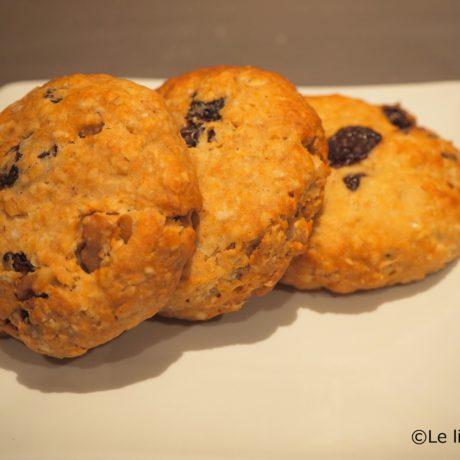 30分でオートミールカム―トクッキー
